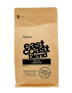 One pound bag of East Coast espresso blend.